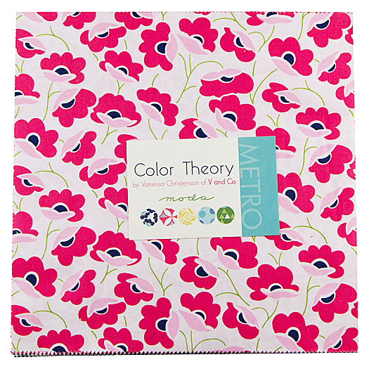 Layer Cake Quilt Fabric : Moda COLOR THEORY Layer Cake 10