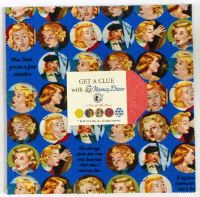 Nancy Drew Cake Ideas http://www.ebay.co.uk/itm/Moda-GET-A-CLUE-WITH-NANCY-DREW-Layer-Cake-10-Fabric-Squares-1340LC-/380624011951