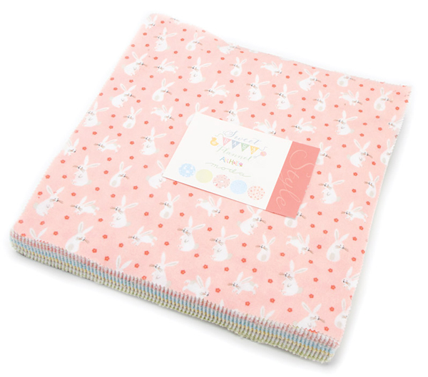 Layer Cake Quilt Fabric : Moda SWEET BABY FLANNELS Layer Cake 10