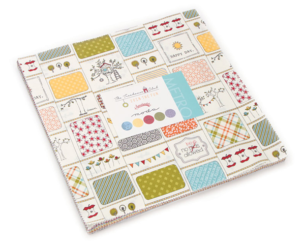 Layer Cake Quilt Size : Moda TREEHOUSE CLUB Layer Cake 10