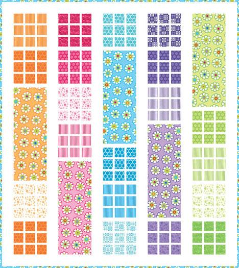 Moda GOOD MORNING QUILT KIT Quilting Fabric Pattern Me My Sister KIT22180 eBay