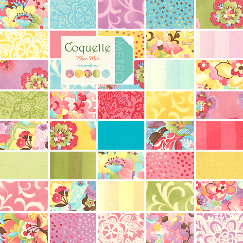 Layer Cake Quilt Fabric : Chez Moi COQUETTE 10