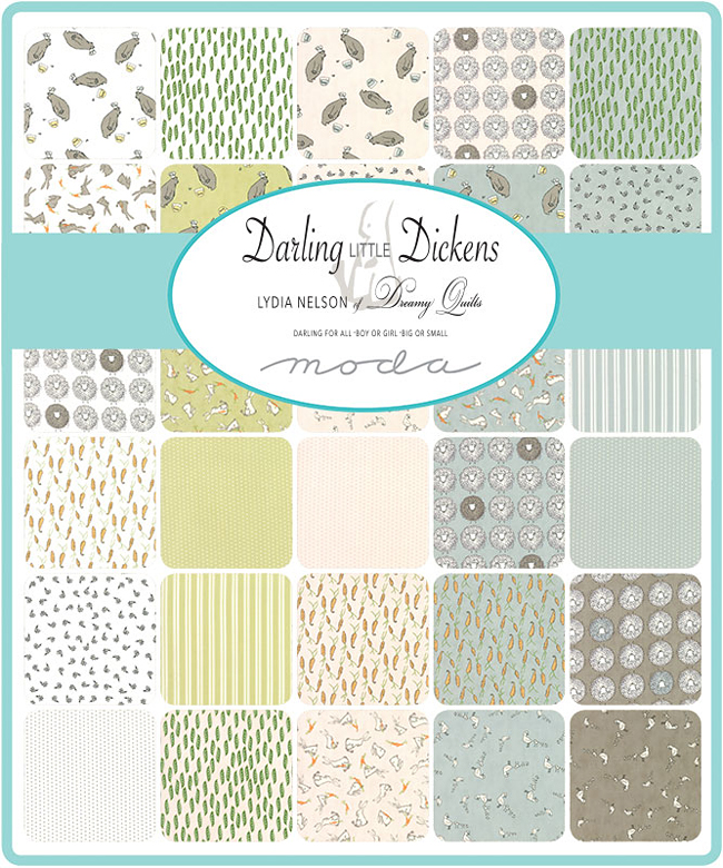 Moda Darling Little Dickens Fat Eighth Bundle 32 Precut